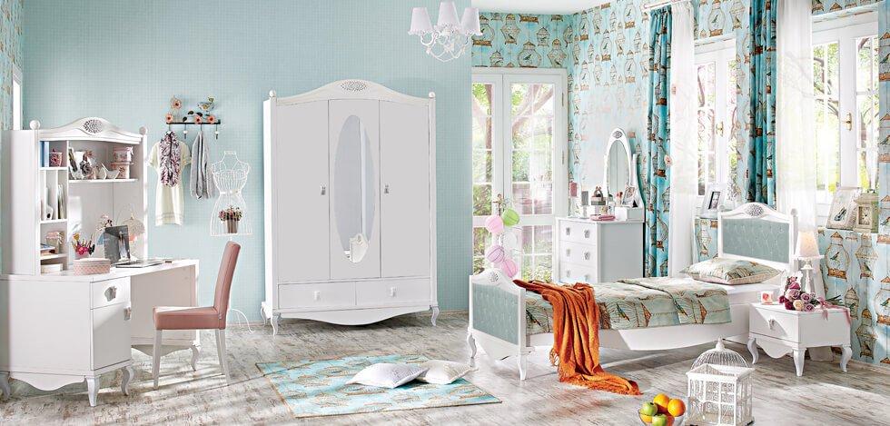 mẫu phòng ngủ trẻ em đẹp phong cách cổ điển 02