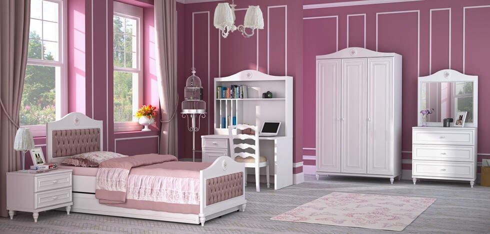 mẫu phòng ngủ trẻ em đẹp phong cách cổ điển 03