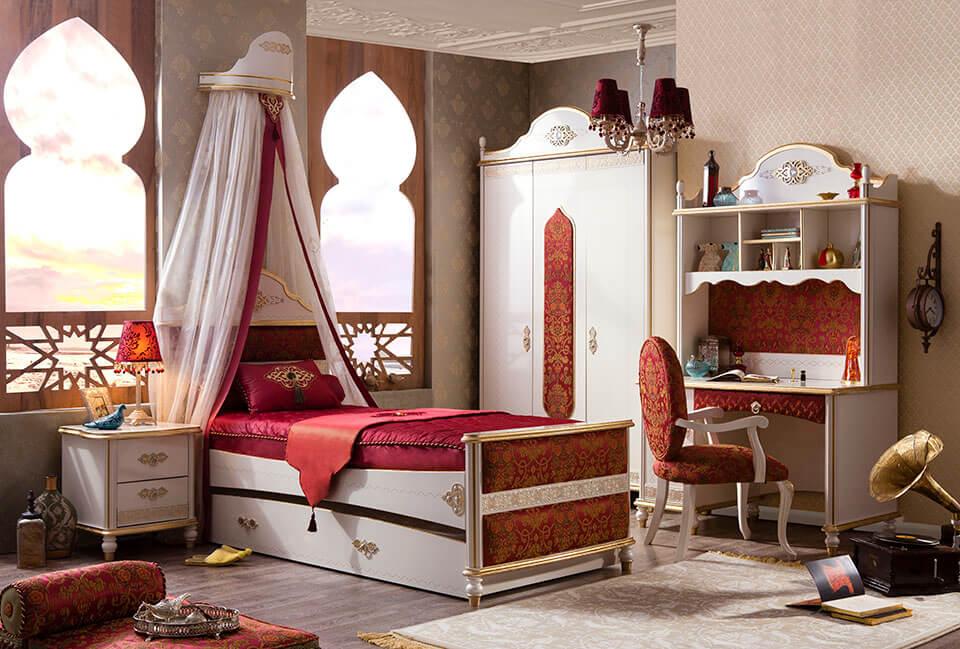 mẫu phòng ngủ trẻ em đẹp phong cách cổ điển 06