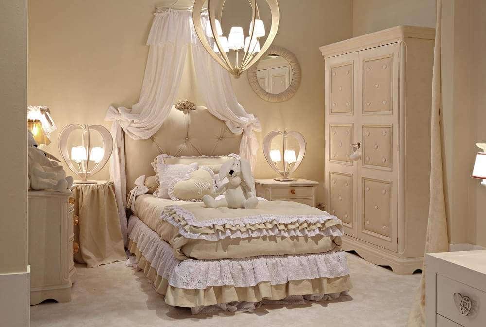 mẫu phòng ngủ trẻ em đẹp phong cách cổ điển 10