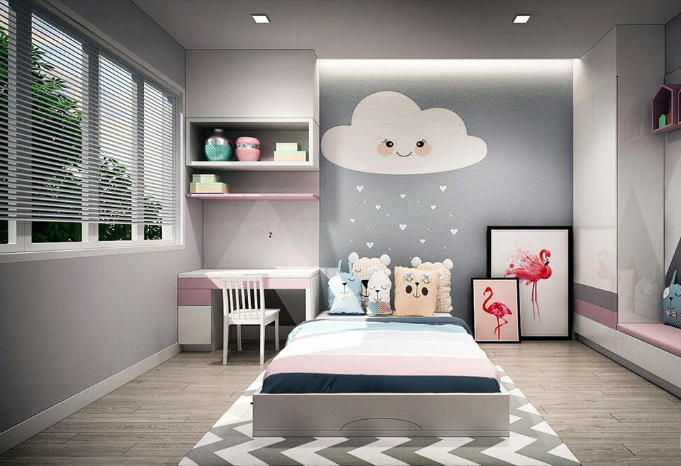 mẫu phòng trẻ em đẹp