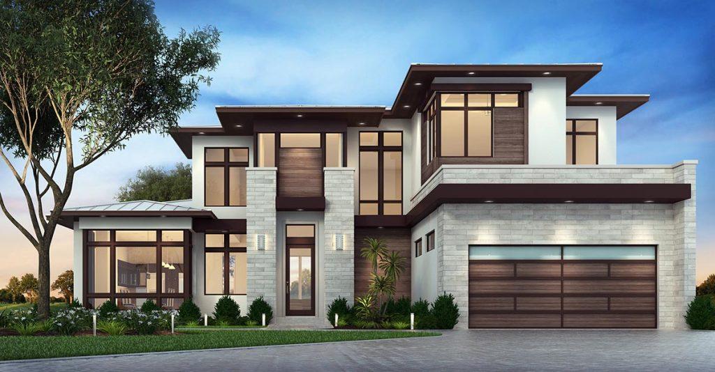 mẫu thiết kế biệt thự nhà vườn đẹp 12