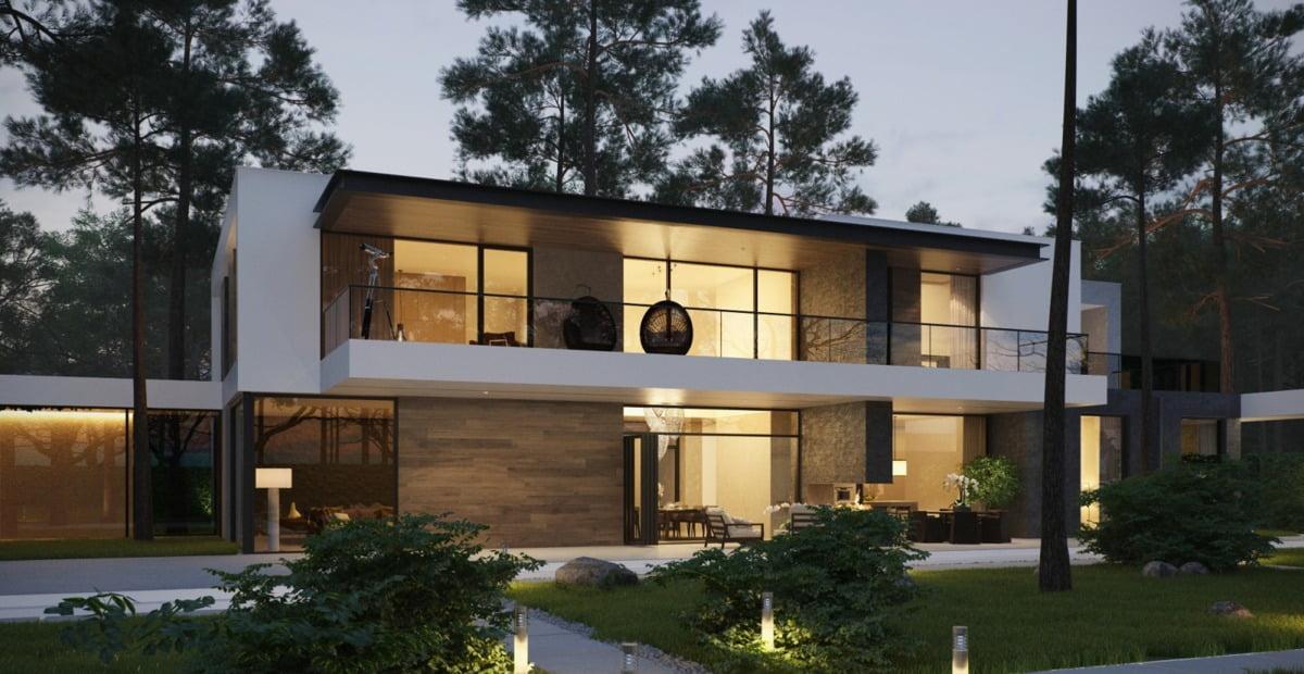 mẫu thiết kế biệt thự nhà vườn đẹp 14