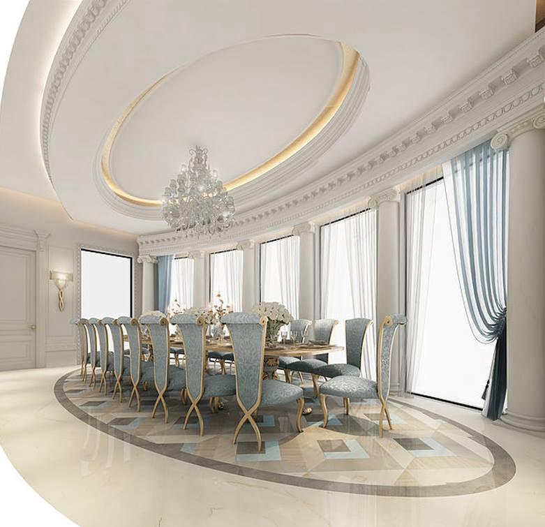 mẫu thiết kế biệt thự tân cổ điển đẹp xuất sắc năm 2018 11