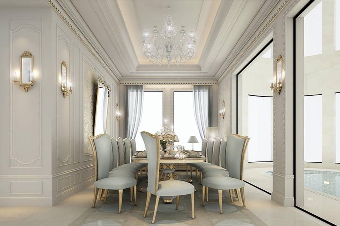 mẫu thiết kế biệt thự tân cổ điển đẹp xuất sắc năm 2018 12