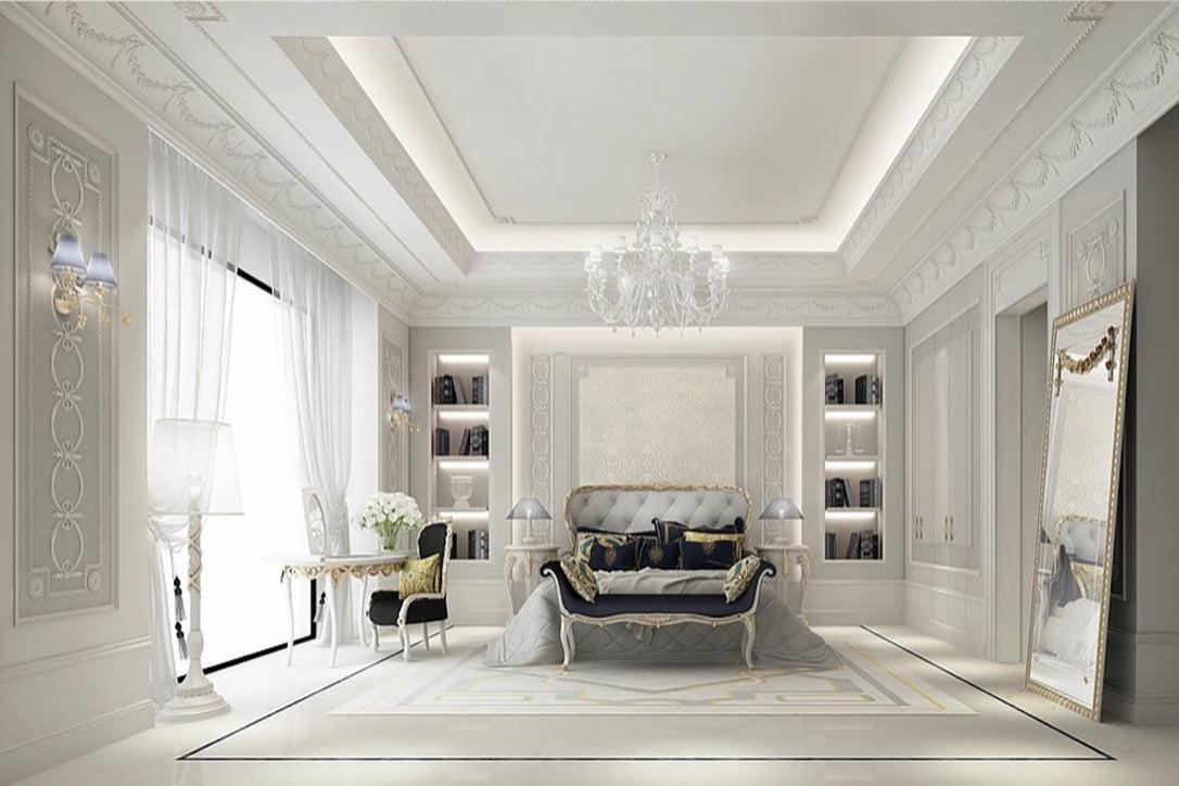 mẫu thiết kế biệt thự tân cổ điển đẹp xuất sắc năm 2018 15