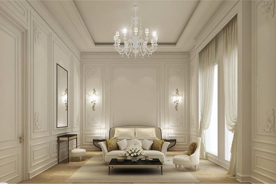 mẫu thiết kế biệt thự tân cổ điển đẹp xuất sắc năm 2018 16