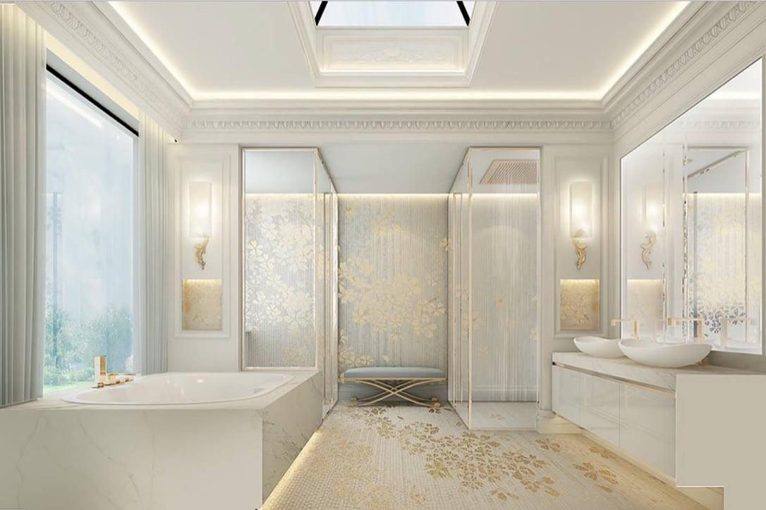 mẫu thiết kế biệt thự tân cổ điển đẹp xuất sắc năm 2018 20