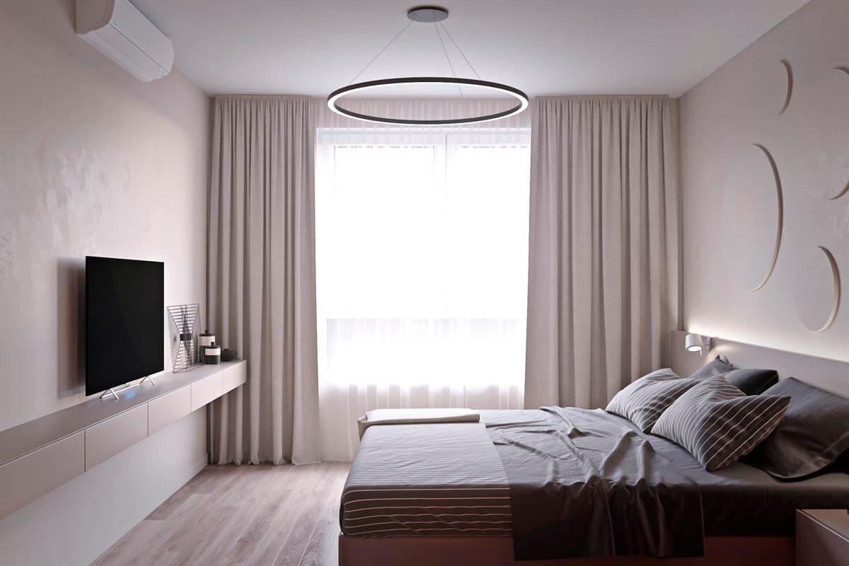 mẫu thiết kế căn hộ chung cư 60m2 sang trọng 10