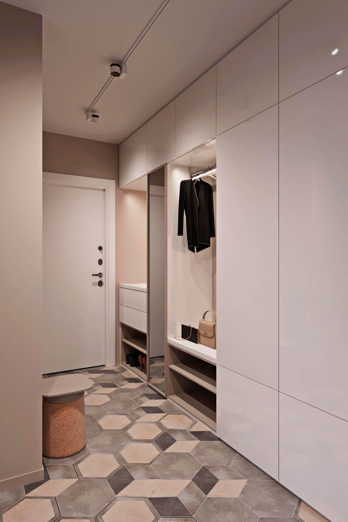 mẫu thiết kế căn hộ chung cư 60m2 sang trọng 8