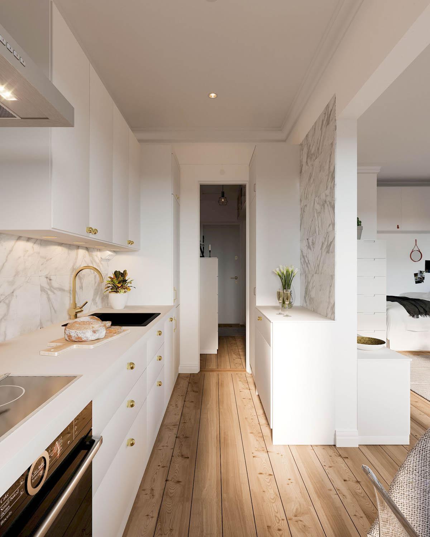 mẫu thiết kế căn hộ diện tích nhỏ đẹp 14