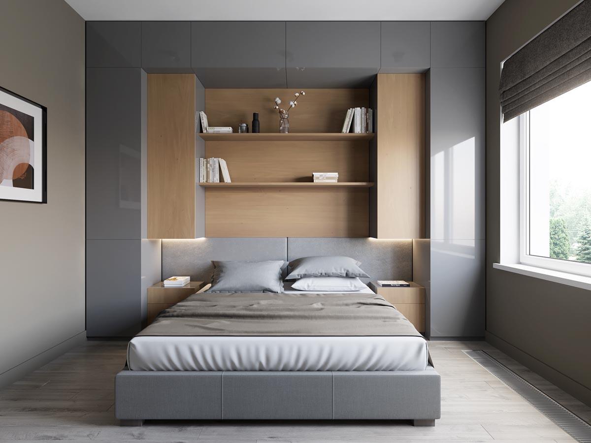 mẫu thiết kế căn hộ diện tích nhỏ đẹp 17