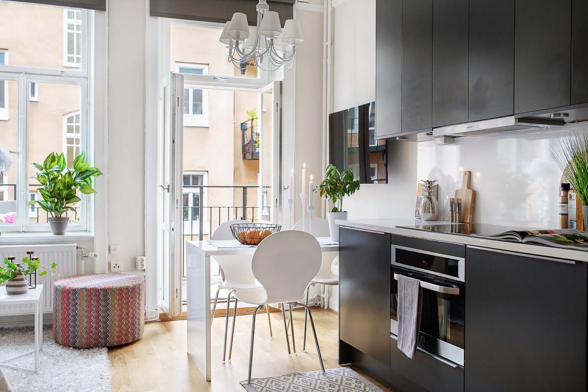 mẫu thiết kế căn hộ diện tích nhỏ đẹp 4