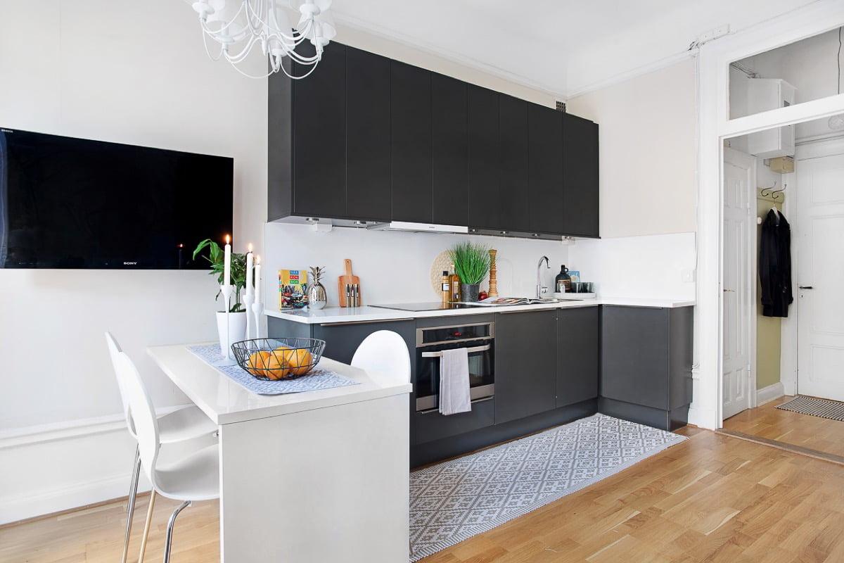 mẫu thiết kế căn hộ diện tích nhỏ đẹp 5
