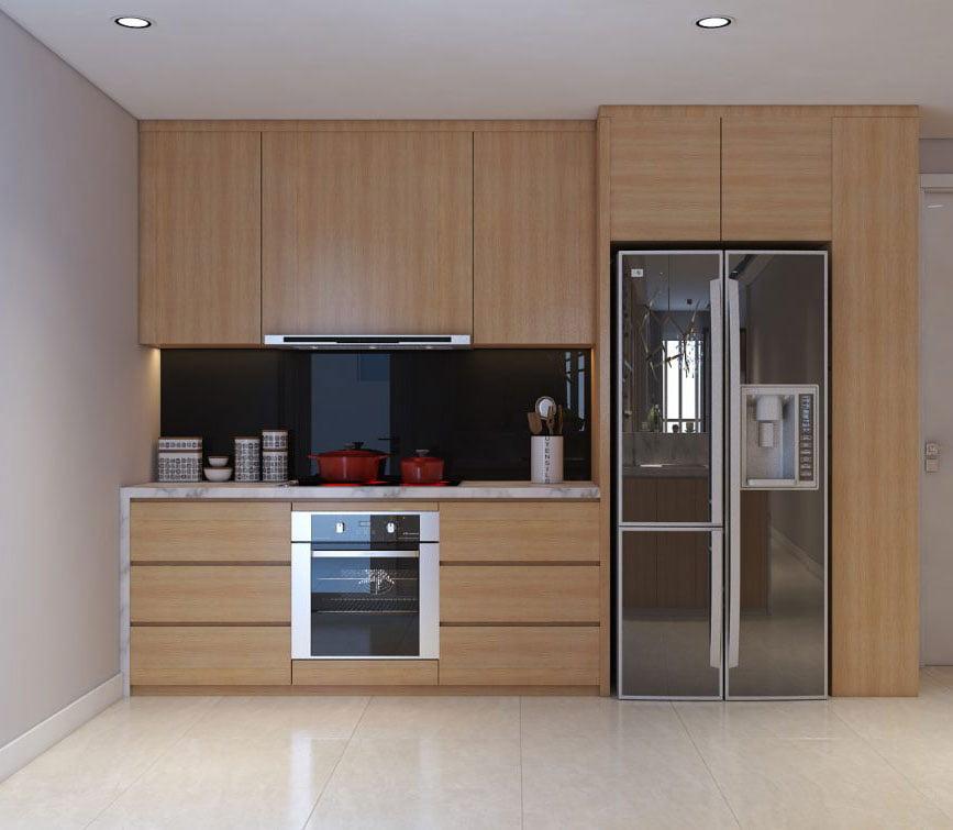 Mẫu thiết kế chung cư 3 phòng ngủ đơn giản đầy lôi cuốn