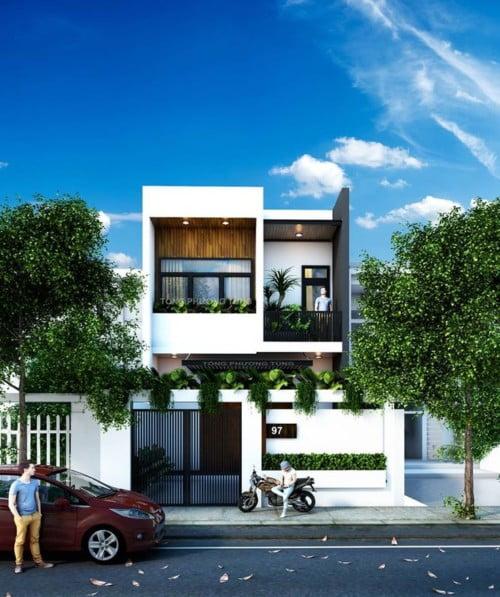 mẫu thiết kế nhà 2 tầng 6x15 1