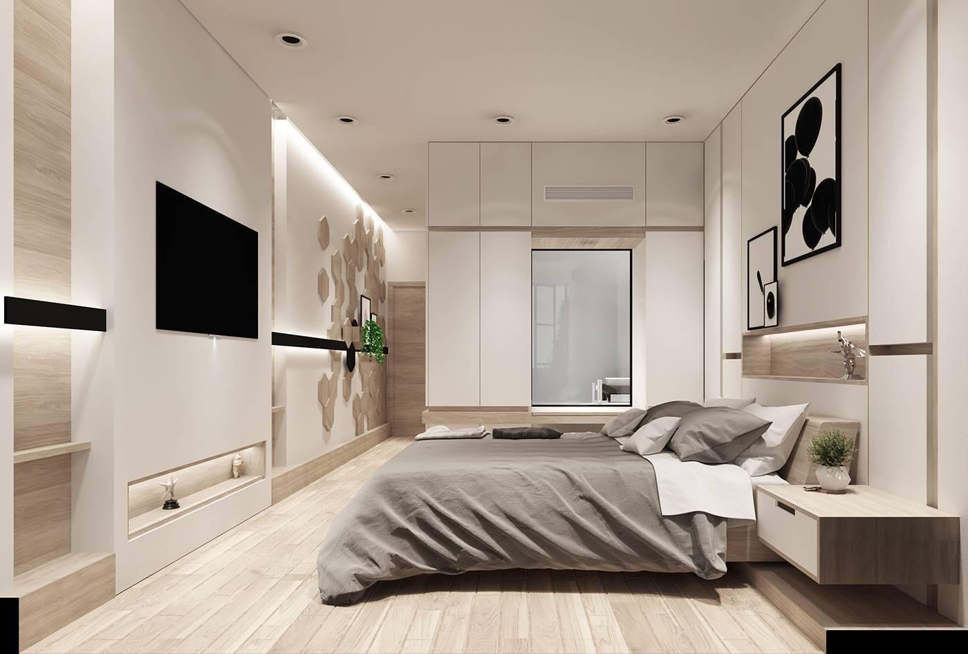 mẫu thiết kế nhà 2 tầng 6x15 8
