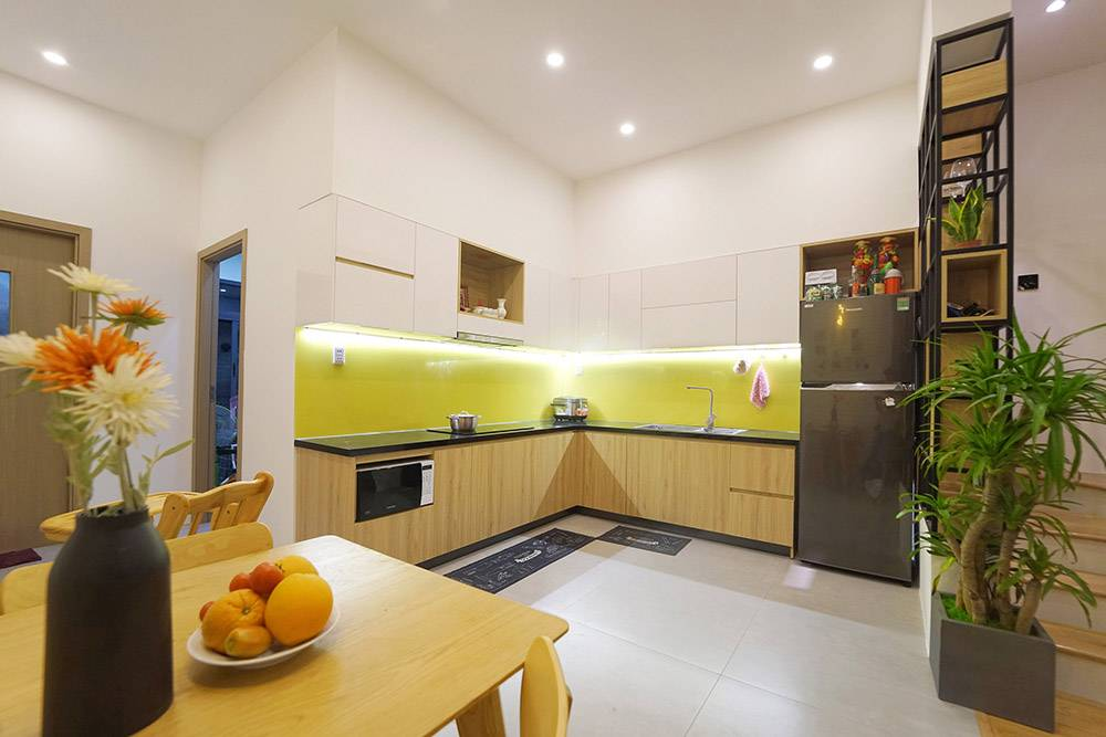 mẫu thiết kế nhà 2 tầng mặt tiền 6m 12