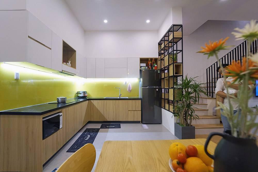 mẫu thiết kế nhà 2 tầng mặt tiền 6m 14