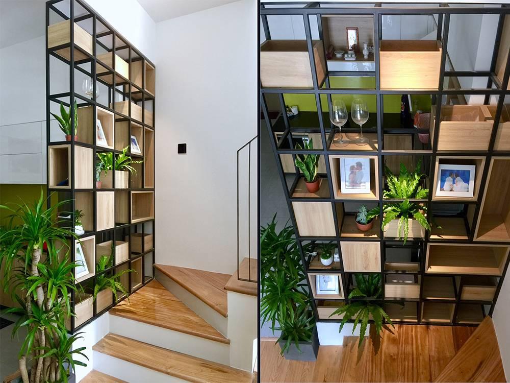 mẫu thiết kế nhà 2 tầng mặt tiền 6m 15