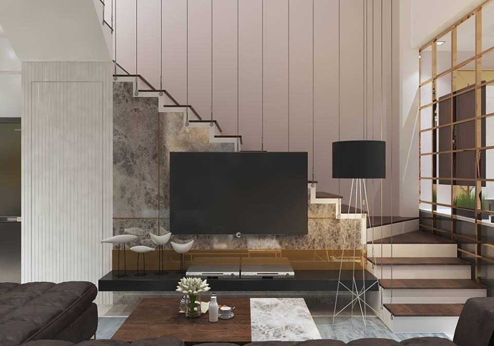 mẫu thiết kế nhà 6x10m 2 tầng 5