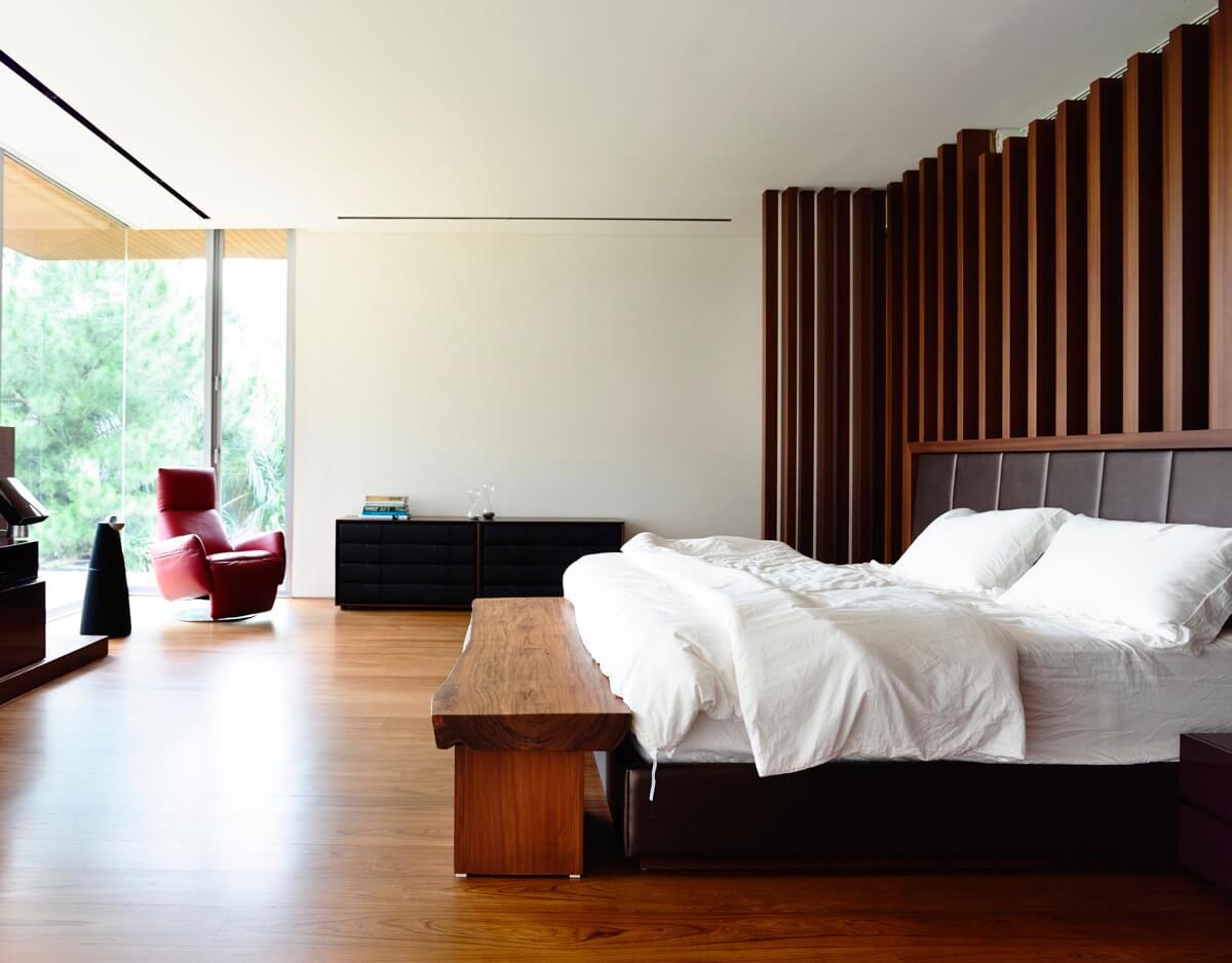 phòng ngủ thiết kế nhà biệt thự đẹp hiện đại
