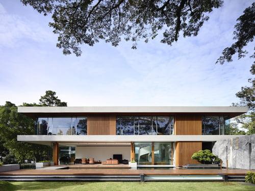 khám phá mẫu thiết kế nhà biệt thự đẹp phong cách hiện đại
