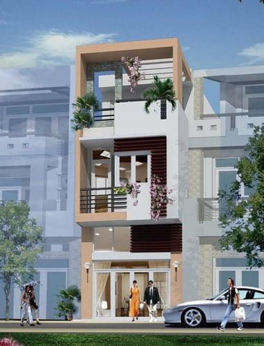 mẫu thiết kế nhà đẹp 5x15 hiện đại đơn giản 7