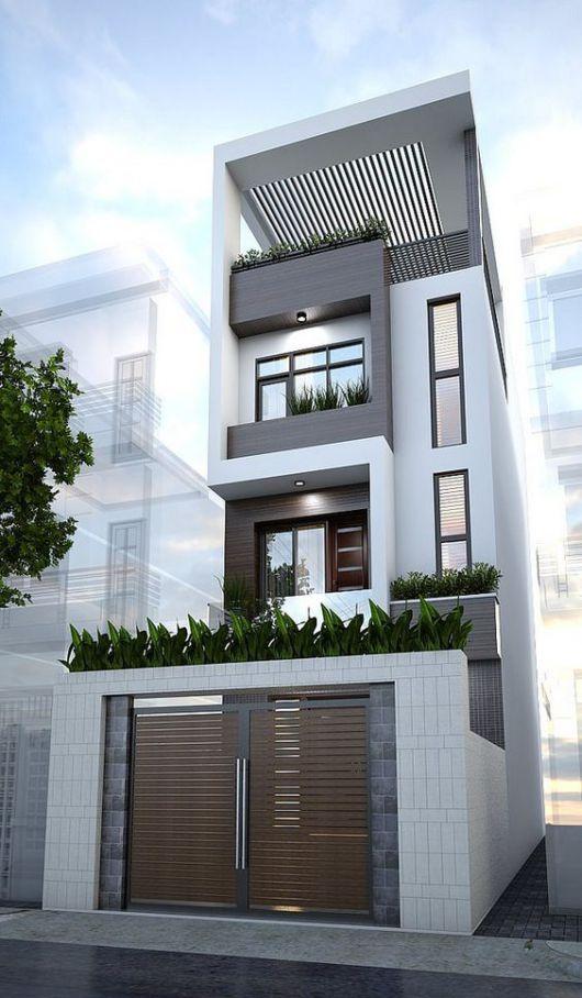 mẫu thiết kế nhà đẹp 5x15 hiện đại đơn giản 2