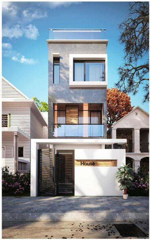 mẫu thiết kế nhà đẹp 5x15 hiện đại đơn giản 3