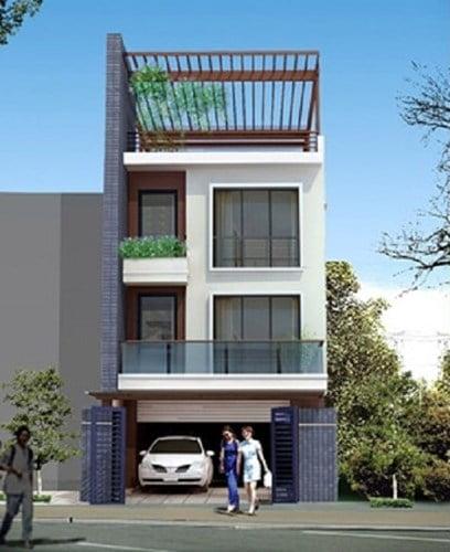 mẫu thiết kế nhà đẹp 5x15 hiện đại đơn giản 6