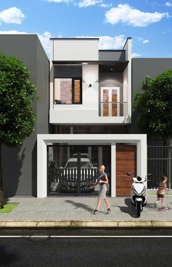 mẫu thiết kế nhà ngang 6m 12