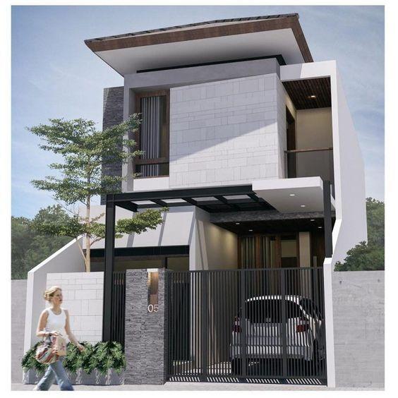 mẫu thiết kế nhà ngang 6m 13