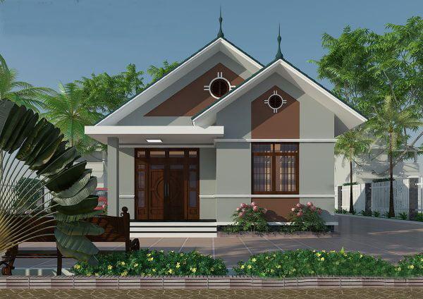 mẫu thiết kế nhà ngang 6m 5