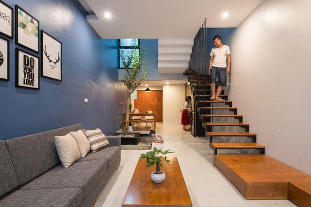 mẫu thiết kế nhà nhỏ đẹp thông thoáng tiện nghi 11