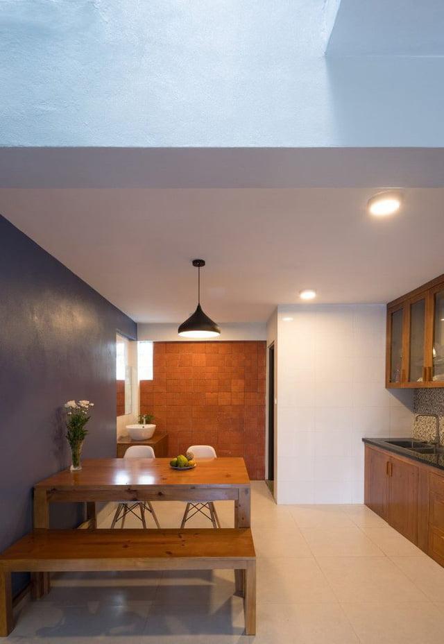 mẫu thiết kế nhà nhỏ đẹp thông thoáng tiện nghi 12