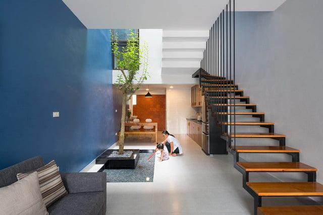 mẫu thiết kế nhà nhỏ đẹp thông thoáng tiện nghi 13