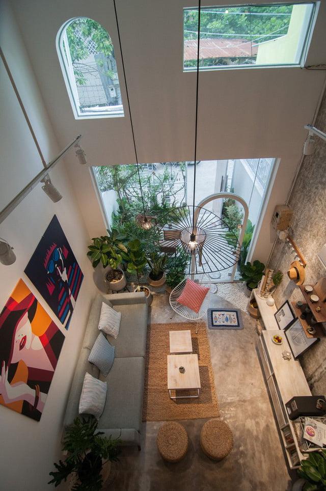 mẫu thiết kế nhà nhỏ đẹp thông thoáng tiện nghi 21