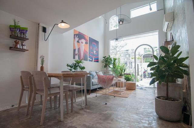 mẫu thiết kế nhà nhỏ đẹp thông thoáng tiện nghi 22