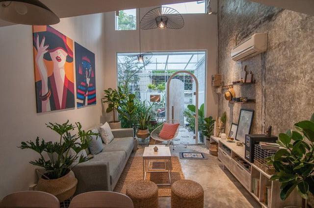 mẫu thiết kế nhà nhỏ đẹp thông thoáng tiện nghi 23