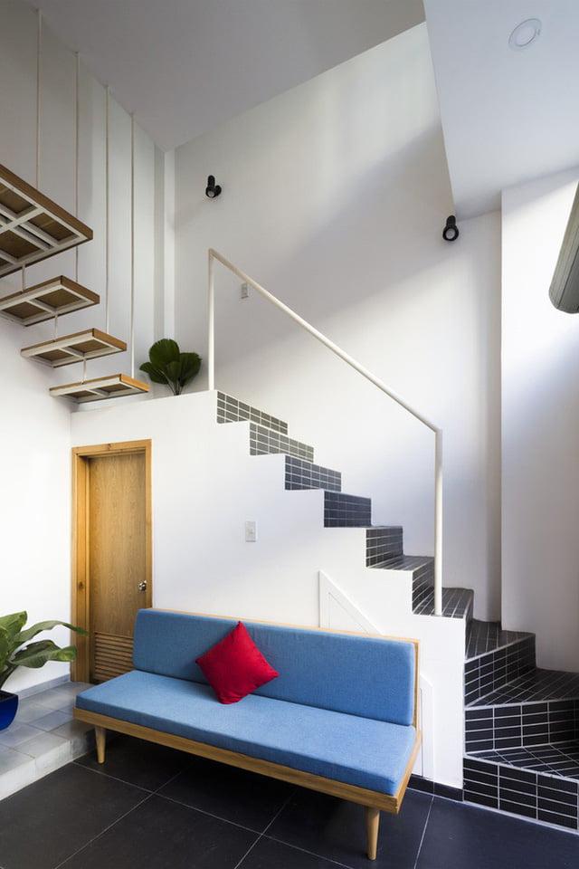 mẫu thiết kế nhà nhỏ đẹp thông thoáng tiện nghi 4