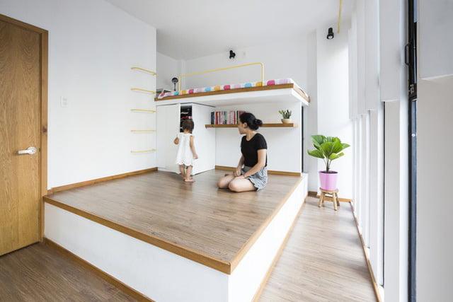mẫu thiết kế nhà nhỏ đẹp thông thoáng tiện nghi 5