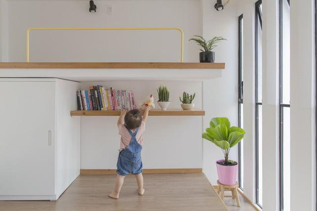mẫu thiết kế nhà nhỏ đẹp thông thoáng tiện nghi 6