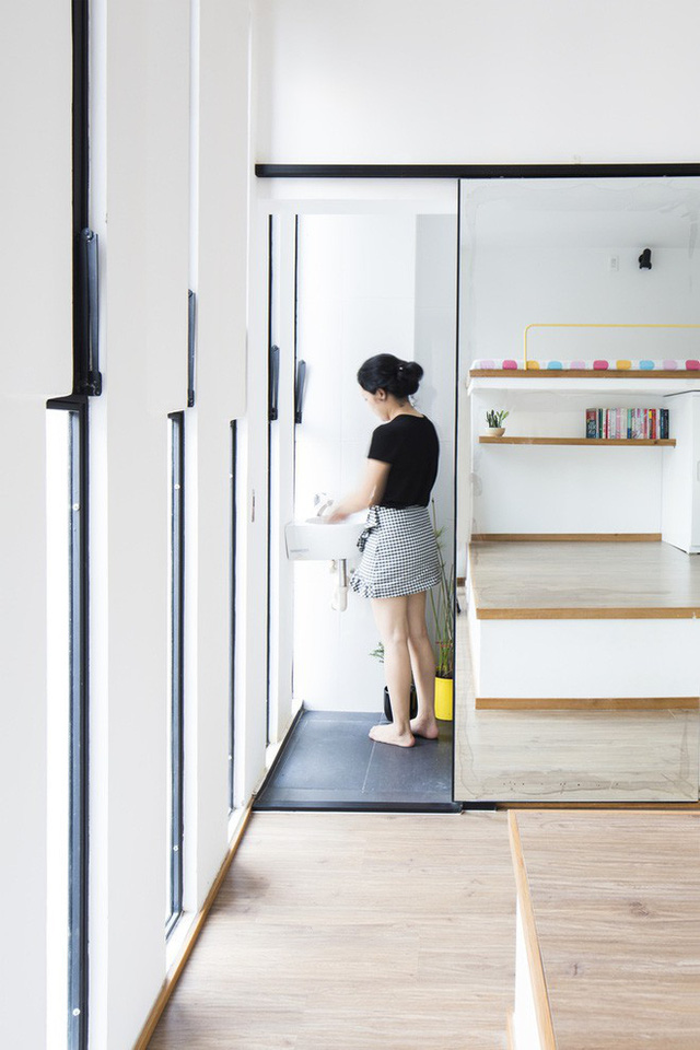 mẫu thiết kế nhà nhỏ đẹp thông thoáng tiện nghi 7
