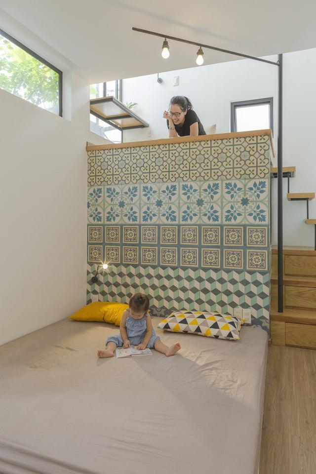 mẫu thiết kế nhà nhỏ đẹp thông thoáng tiện nghi 8