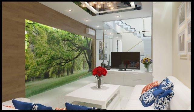 mẫu thiết kế nhà ống 3 tầng 4x15 phong cách hiện đại 8