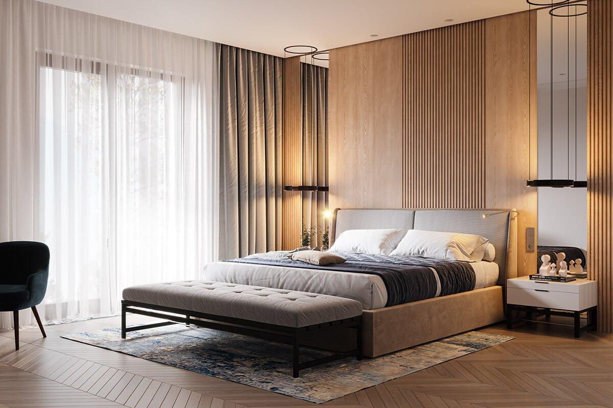 mẫu thiết kế nội thất căn hộ chung cư 80m2 đẹp 14