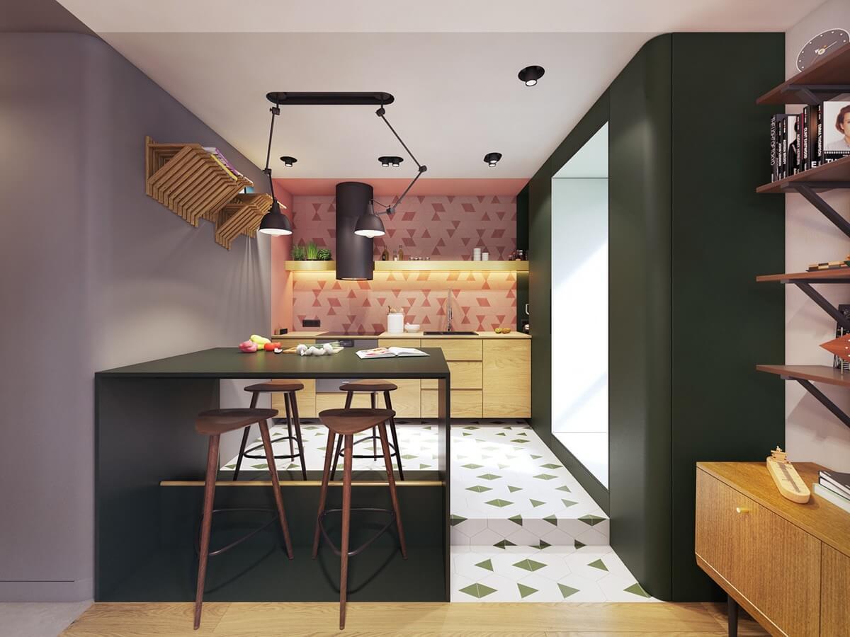 mẫu thiết kế nội thất chung cư hiện đại 3