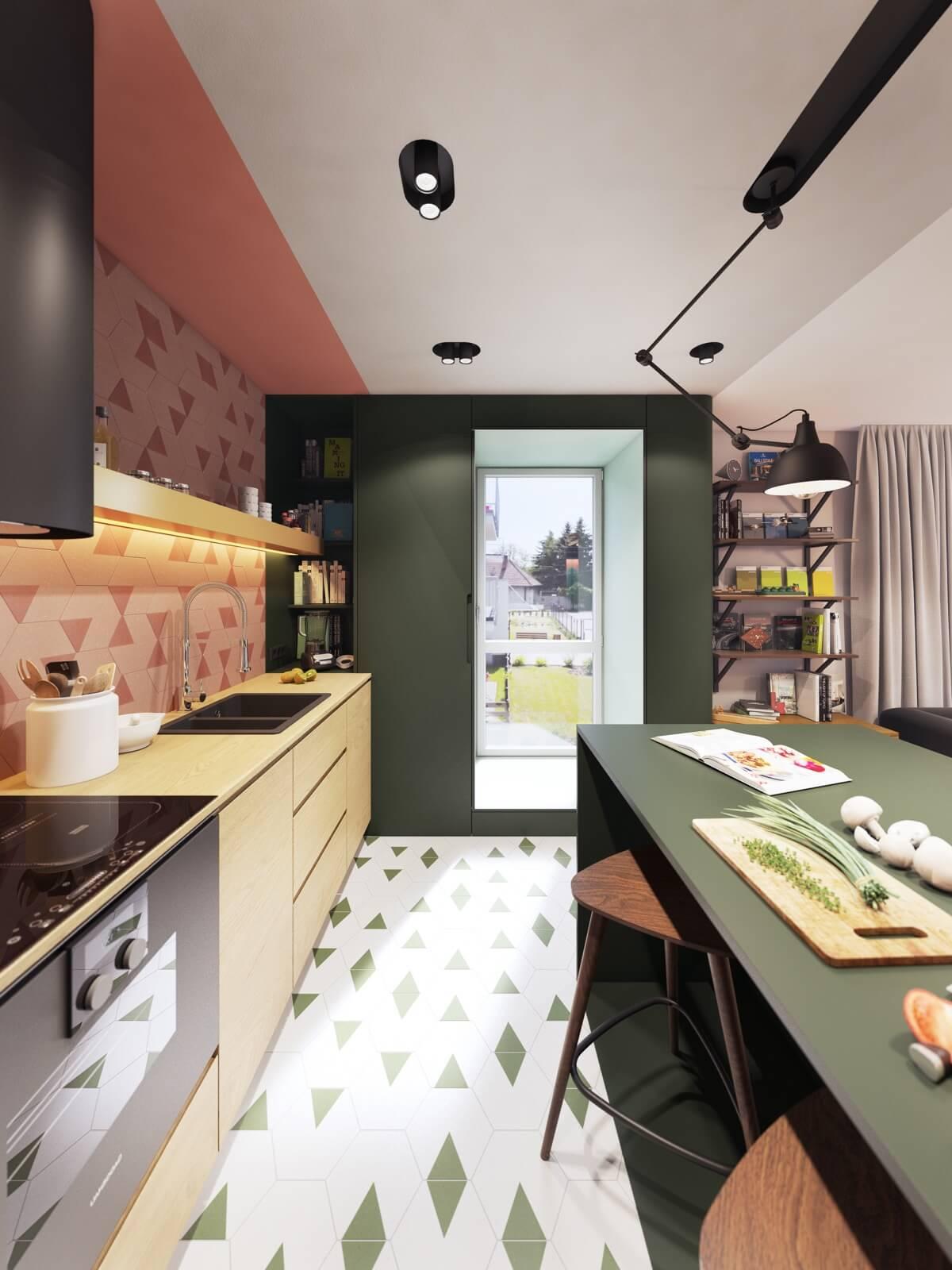 mẫu thiết kế nội thất chung cư hiện đại 4