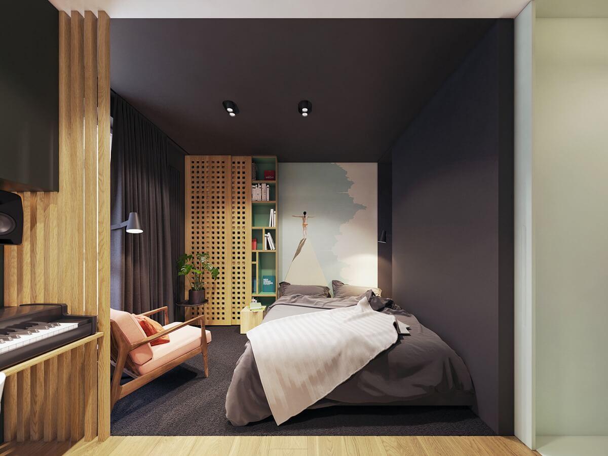 mẫu thiết kế nội thất chung cư hiện đại 5